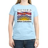 Victoria British Columbia Women's Pink T-Shirt