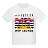 Whistler British Columbia Kids T-Shirt