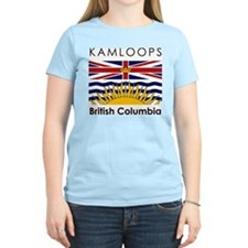 Kamloops British Columbia Women's Pink T-Shirt