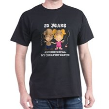 25th Anniversary Mens Fishing T-Shirt