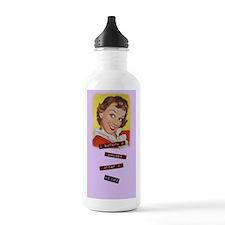 Funny Grammar Rule Water Bottle