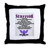 Justice for Travis Alexander Throw Pillow