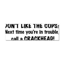 Cute Crackhead Car Magnet 10 x 3