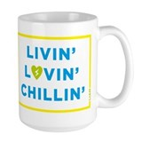 LLC Blue Heart Coffee Mug