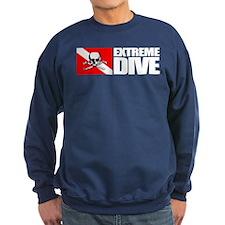 Extreme Diver (Skull) Sweatshirt