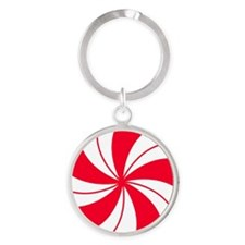Peppermint Candy Keychains