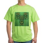 Feathered Serpent  Green T-Shirt