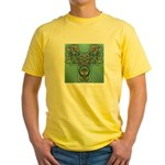 Feathered Serpent  Yellow T-Shirt