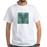 Feathered Serpent White T-Shirt