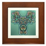 Feathered Serpent  Framed Tile