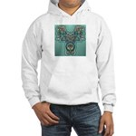 Feathered Serpent Hooded Sweatshirt