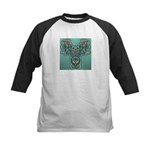 Feathered Serpent  Kids Baseball Jersey