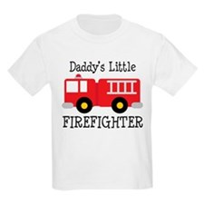 Daddy's Little Firefighter T-Shirt