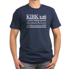 Kirk 3:16 - Star Trek Khan T-Shirt