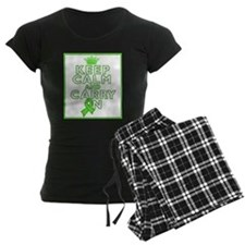 Non-Hodgkins Lymphoma Keep Calm Carry On Pajamas