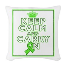 Non-Hodgkins Lymphoma Keep Calm Carry On Woven Thr