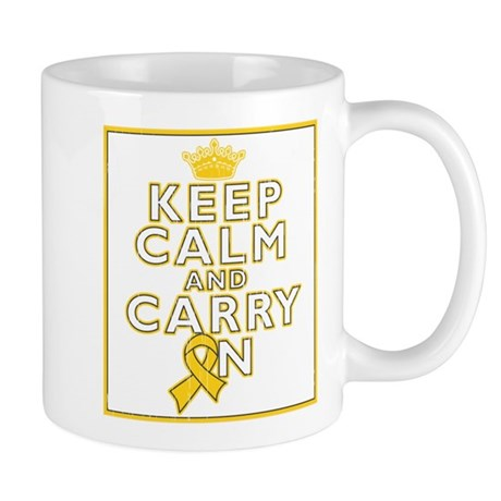 Neuroblastoma Keep Calm Carry On Mug