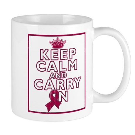 Multiple Myeloma Keep Calm Carry On Mug