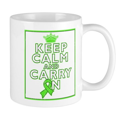 Lymphoma Keep Calm Carry On Mug