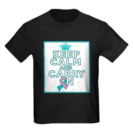Hereditary Breast Cancer Keep Calm Carry On Kids D
