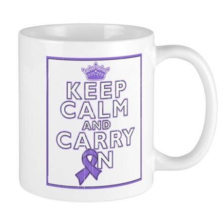 Hodgkins Lymphoma Keep Calm Mug
