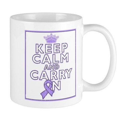 General Cancer Keep Calm Carry On Mug