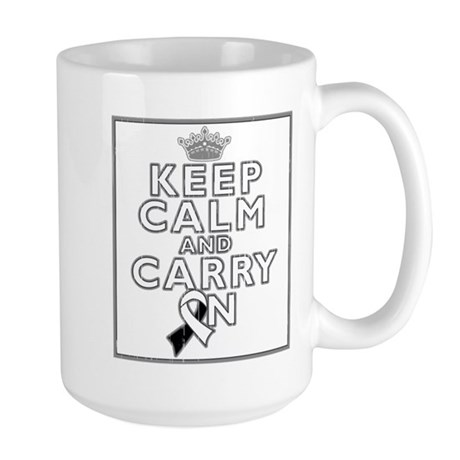 Carcinoid Cancer Keep Calm Large Mug