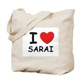 I love Sarai Tote Bag