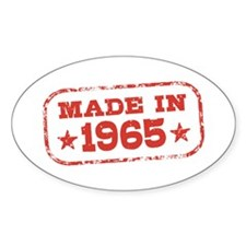 Made In 1965 Stickers