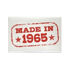 Made In 1965 Rectangle Magnet