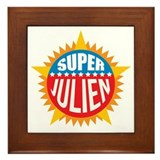 Super Julien Framed Tile