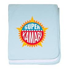 Super Kamari baby blanket