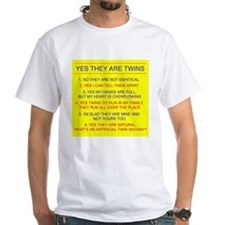 Twins Questions Fraternal Mens T-Shirt