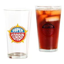 Super Korbin Drinking Glass