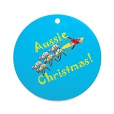 Christmas in Australia Ornament (Round)