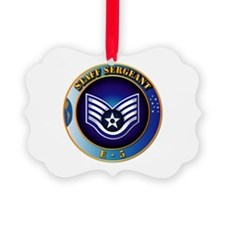Staff Sergeant (SSgt) Ornament
