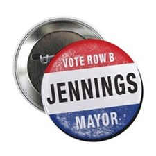 "Re-Elect Mayor Jennings 2.25"" Button"