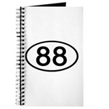 Number 88 Oval Journal