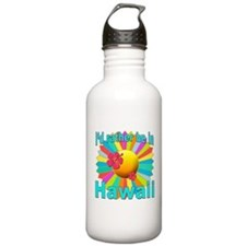 Tropical I'd Rather be in Hawaii Water Bottle