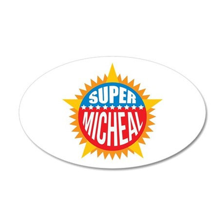 Super Micheal Wall Decal