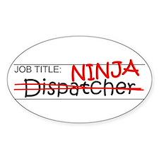 Job Ninja Dispatcher Decal