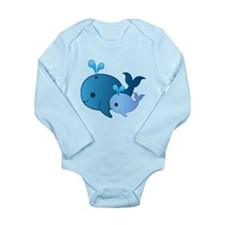 Baby Whale Body Suit