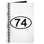 Number 74 Oval Journal