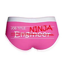 Job Ninja Engineer Women's Boy Brief