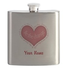 Be The Change - Personalized! Flask