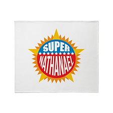 Super Nathanael Throw Blanket