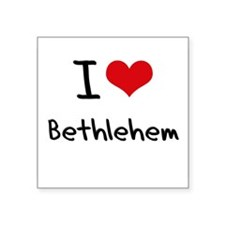 I Love Bethlehem Sticker