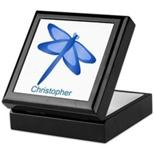 Personalized Dragonfly Keepsake Box