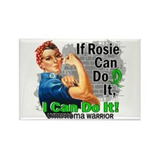 If Rosie Can Do It Lymphoma Rectangle Magnet (10 p