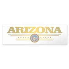 Arizona Gadsden Flag Bumper Bumper Sticker